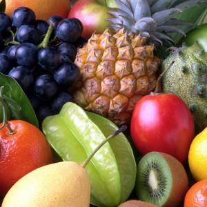 Zu jeder Mahlzeit Obst und Gemüse!