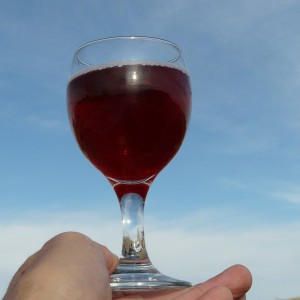 Rotwein ist gut für das Herz!