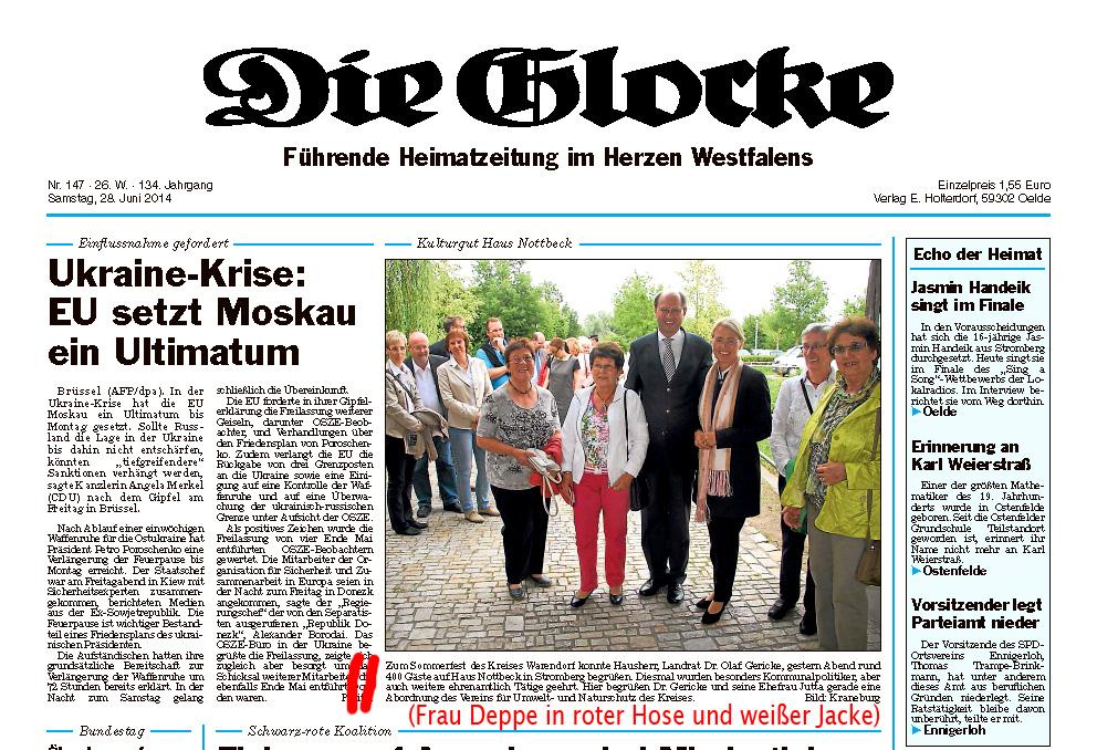 """Grünes"" Ehrenamt gewürdigt"